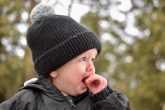 Aaron dislikes snow