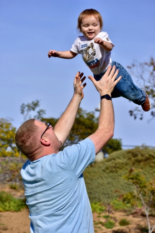 Flying Aaron!