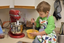 I have a really awesome helper in the kitchen!